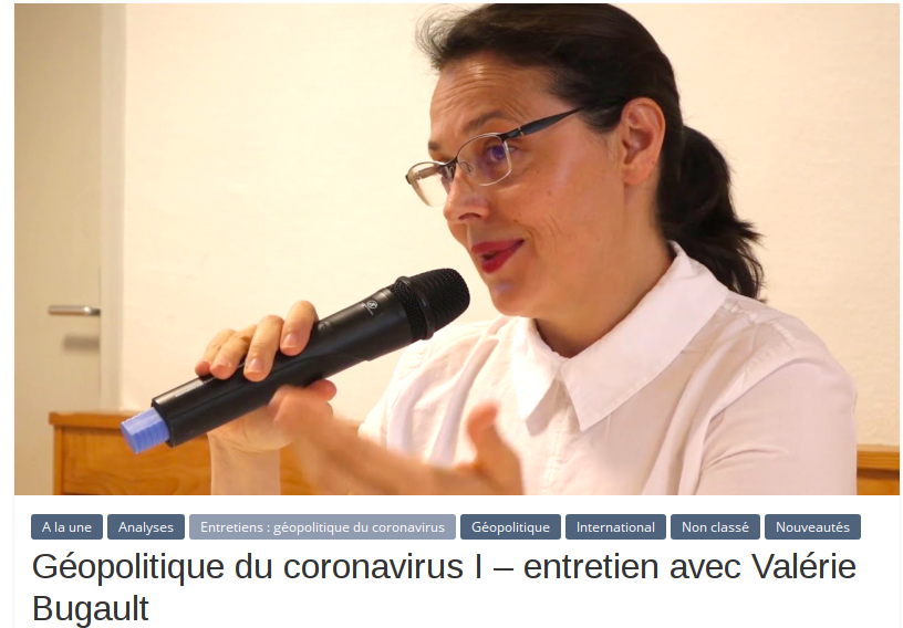 Géopolitique du Coronavirus